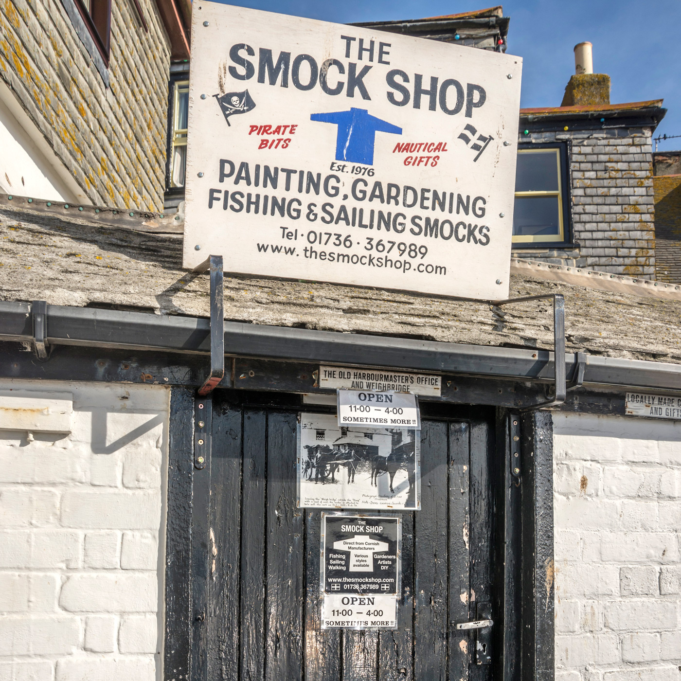 The smock shop St.Ives Cornwall
