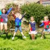 Childrens smocks , art work playschool multicoloured smock