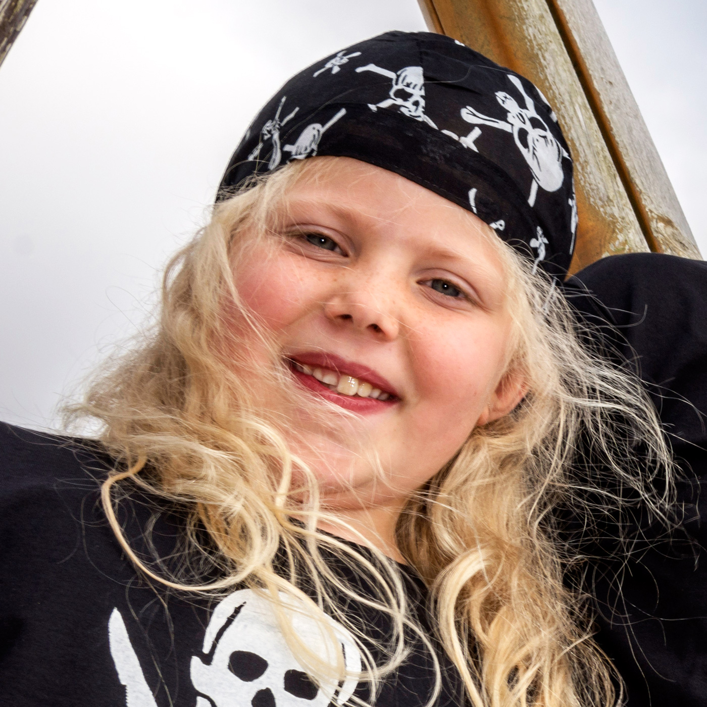 pirate-bandanna and Kids pirate t shirt
