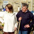 Cornish smock , gardening,art , pottery walking ect;
